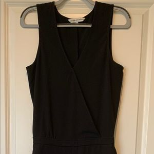 Cupcakes and Cashmere Classic Black Jumpsuit
